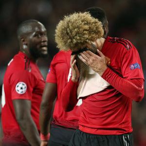 Besviken Marouande Fellaini, Manchester United