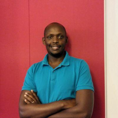 Morris Mugambage är uppvuxen i Uganda och Rwanda men bor sedan sex år i Vasa.