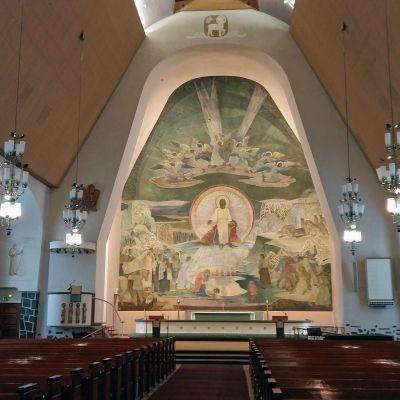 Rovaniemen kirkko.
