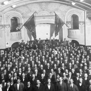 Socialdemokratiska Vänsterpartiets tredje Kongress 12-16 juni 1919 i Stockholm.