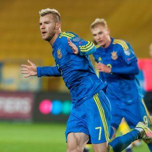 Andrij Jarmolenko har gjort tre mål i kvalet.