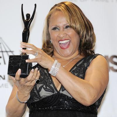 Darlene Love då hon blir invald i Rock and Roll Hall of Fame 2011.