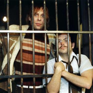Vesa Vierikko ja Timo Kahilainen Kummelissa vuonna 1996.