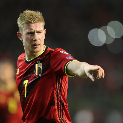 Belgian Kevin De Bruyne.