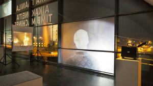 Mika Taanilas installation SSEENNSSEESS 2013