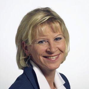 Förvaltningsdirektör Ulla Achrén vid Åbo Akademi.