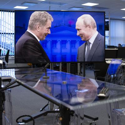 Putin ja Sauli niinistö tapaavat 21.8.2019