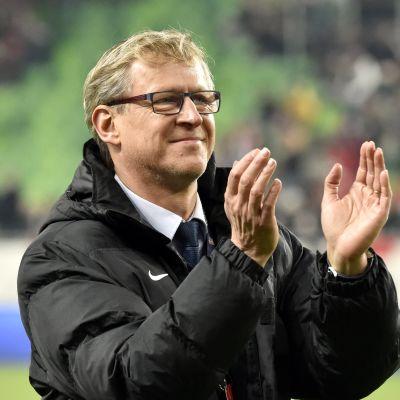 Markku Kanerva är chefstränare för herrlandslaget.