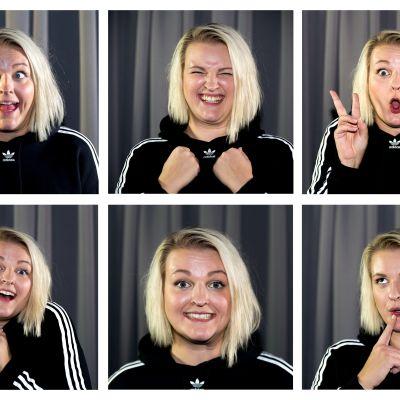 YleX:n toimittaja Jenni Poikelus.