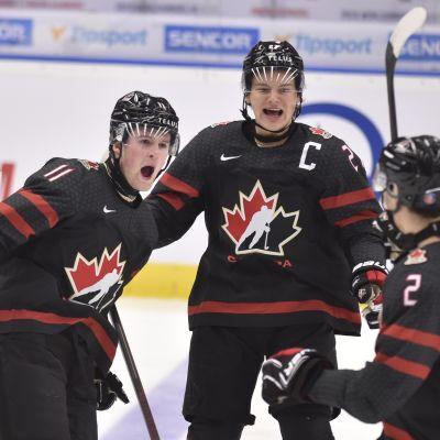 Kanada murskasi Nuoret Leijonat välierässä