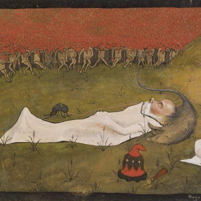 Simberg Tonttukuningas nukkuu