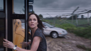 Sarah Wayne Callies i filmen Into the storm.