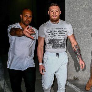 Conor McGregor släpps från häktet.