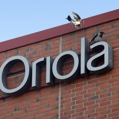 Oriolas anläggning i Esbo.