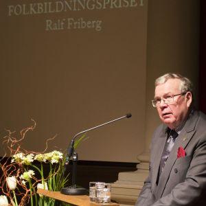 Politikern, diplomaten och journalisten Ralf Friberg