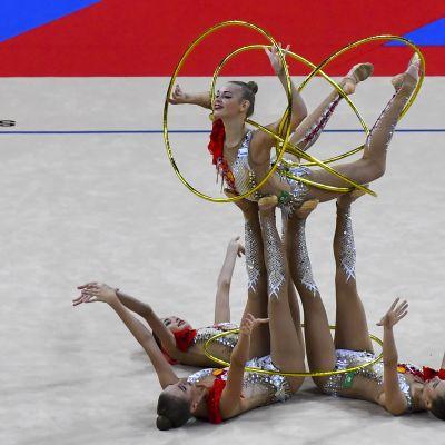 Rytminen voimistelu Venäjä