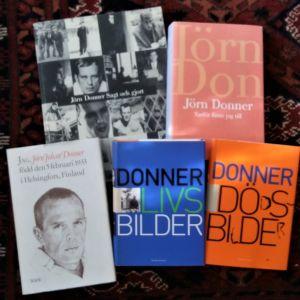 Böcker av Jörn Donner.