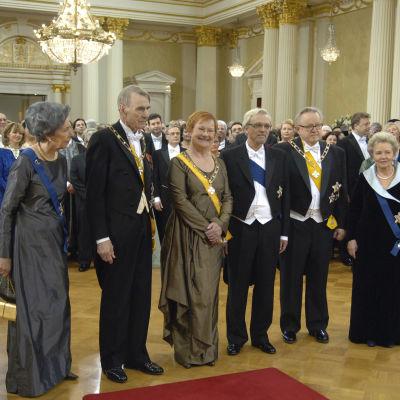 Presidenter på självständighetsmottagningen, 2007