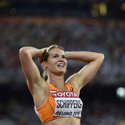 Dafne Schippers, VM i Peking 2015.