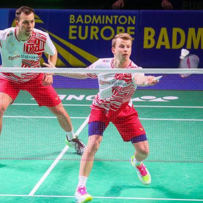 Mixed-EM i badminton arrangerades i Vanda i vintras.