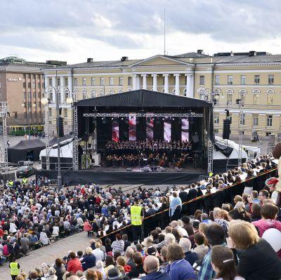 Senatstorget i Helsingfors.