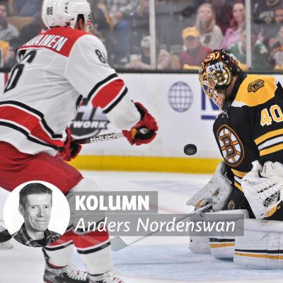 Anders Nordenswan skriver om Tuukka Rask.