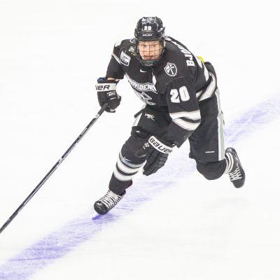 Kasper Björkqvist har gjort sitt i universitetshockeyn.