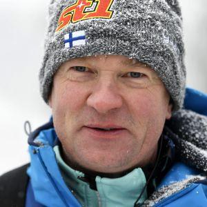 Matti Haavisto är chefstränare i det finska laget.