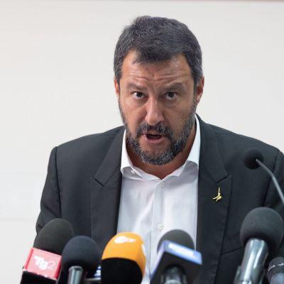 Italiens inrikesminister Matteo Salvini.