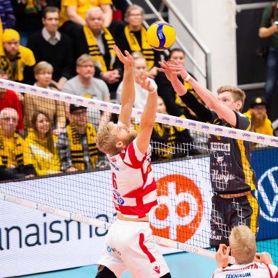 VaLePa-Savo Volley. Lentopallon miesten Suomen Cupin finaali Tampereella Kauppi Sports Centerissä 19.1.2020.