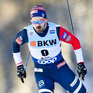 Sondre Turvoll Fossli åkte sprint i Davos i december.