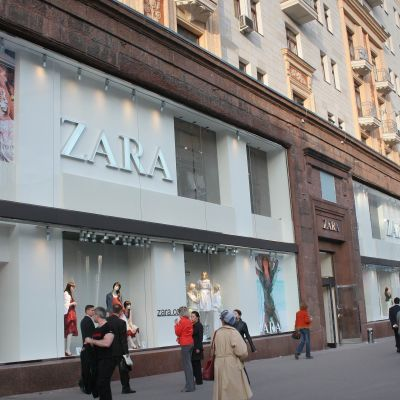 Zaras butik i Moskva