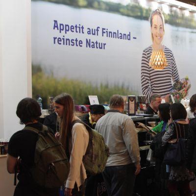 Finland presenterades vid mässan Grüne Woche i Berlin.