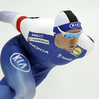 Mika Poutala vann EM-silver i Ryssland.