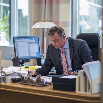 Stefan Svenfors, kommundirektör i Pedersöre