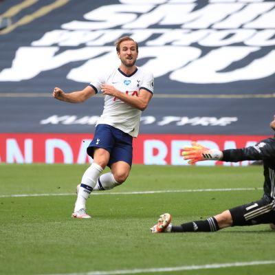 Harry Kane Leicester ottelussa