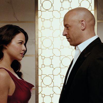 Furious 7, Michelle Rodriguez, Vin Diesel