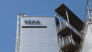 Nokian pääkonttori Espoon Keilaniemessä vuonna 2008.