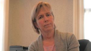 Carina Wikman, ombudsman för Aspegrens stiftelse