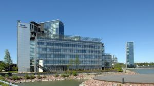 Nokias huvudkontor i Kägeludden i Esbo