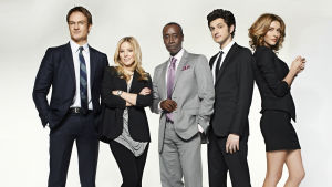 Karaktärer från tv-serien House of lies.