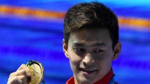 Sun Yang är simningens kinesiske superstjärna