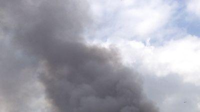 Rök från köpcentret Westgate i Nairobi