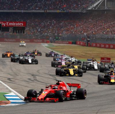F1-bilarna i Tyskland