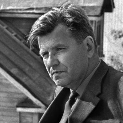Kirjailija Lauri VIITA kesäisellä Pispalanharjulla.