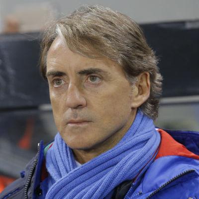 Italiens chefstränare Roberto Mancini.