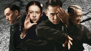 Maggie Cheung ja Tony Leung poseeraavat. Pr-kuva elokuvasta The Grandmaster.