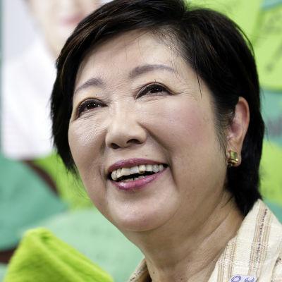 Tokyos nya guvernör Yuriko Koike.