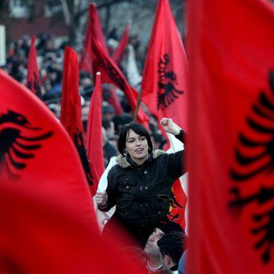 Kosovo blev självständigt den 17 februari 2008