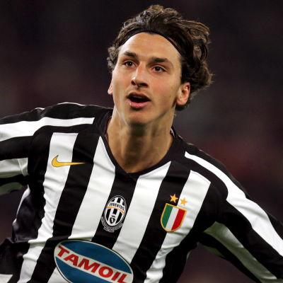Zltan Ibrahimovic i Juventus-dress.